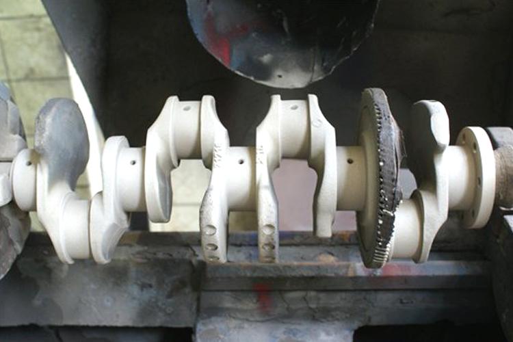 Напыление коленвала Renault 2.2dci