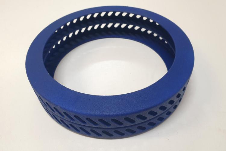 Диффузионное кольцо аппарата сахарной ваты с двумя видами покрытий