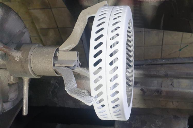 Диффузионное кольцо ватогенератора с керамическим покрытием