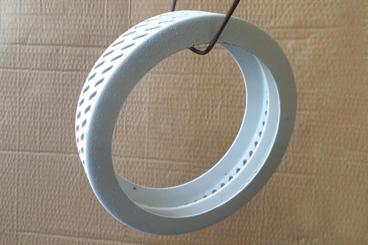 Керамическое покрытие на кольце ватогенератора